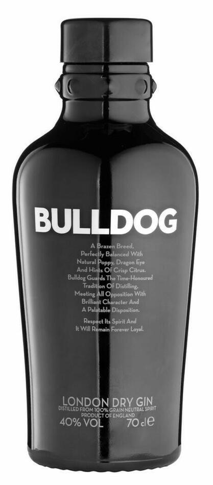 Bulldog Dry Gin* Fl 100