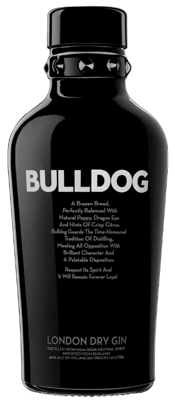 Image of   Bulldog Gin 40% 70cl