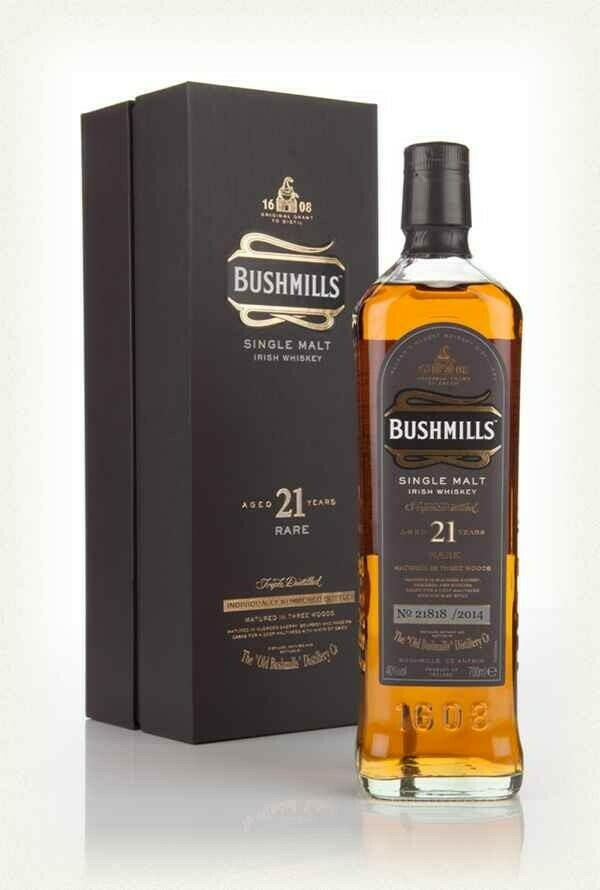 Image of   Bushmills 21 Yo Irish Single Malt