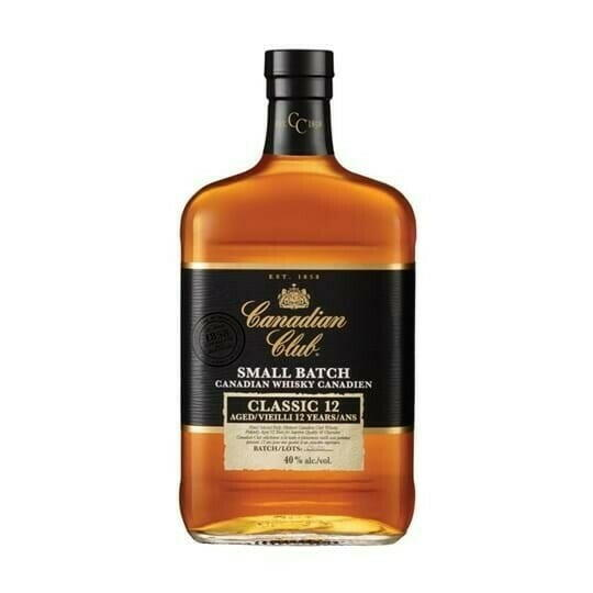 Image of   Canadian Club 12 Yo Whisky Fl 70