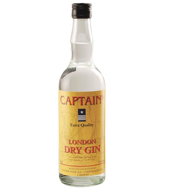 Image of   Captain's Gin Fl 70