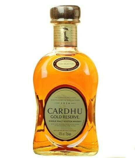 Image of   Cardhu Gold Reserve Speyside Single Malt Fl 70