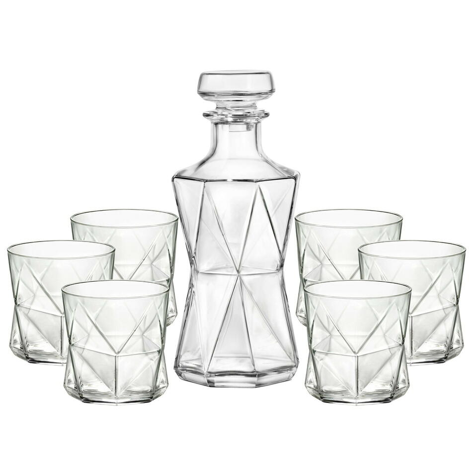 Image of   Cassiopea Decanter & Tumbler Set