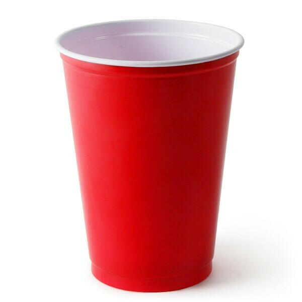 Image of   Red Cups Partykrus 285ml ( 100stk)