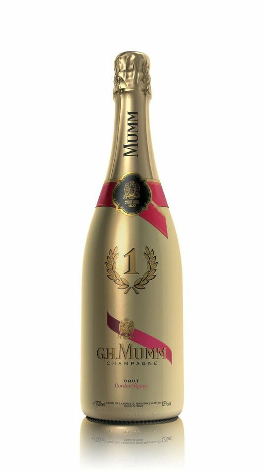 Mumm Champagne Range No.1 Gold Label Fl 75