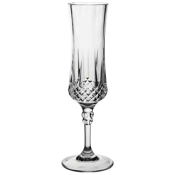 Image of   Champagneglas Vintage - Poly 4stk.