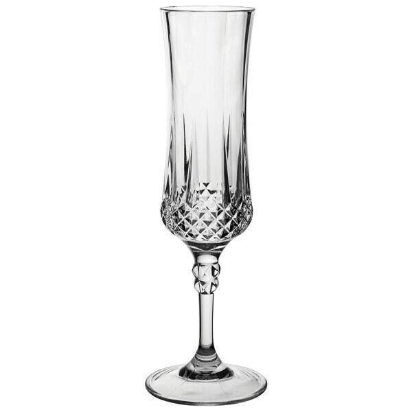 Champagneglas Vintage - Poly 4stk.