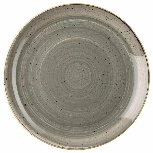 Image of   Churchill Stonecast Peberkorn Går Tallerken 16,5cm