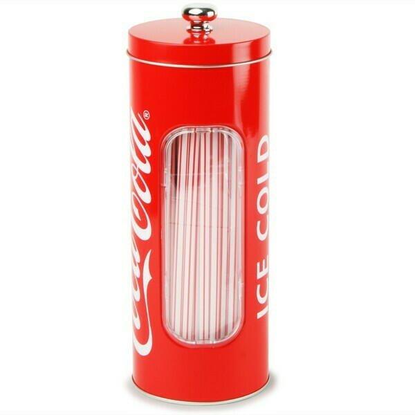 Image of   Coca Cola Sugerørs Dispenser