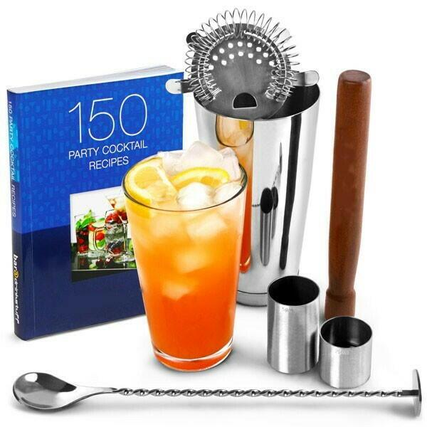 Billede af DRINKSTUFF, Cocktail Sæt Med bog
