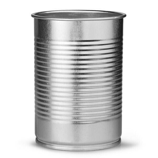 Billede af DRINKSTUFF, Cocktail dåse Sølver 280 ml (4 stk)