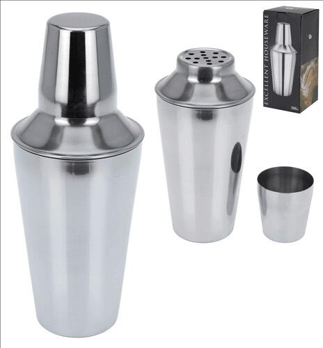 Cocktail Shaker 500ml Stål
