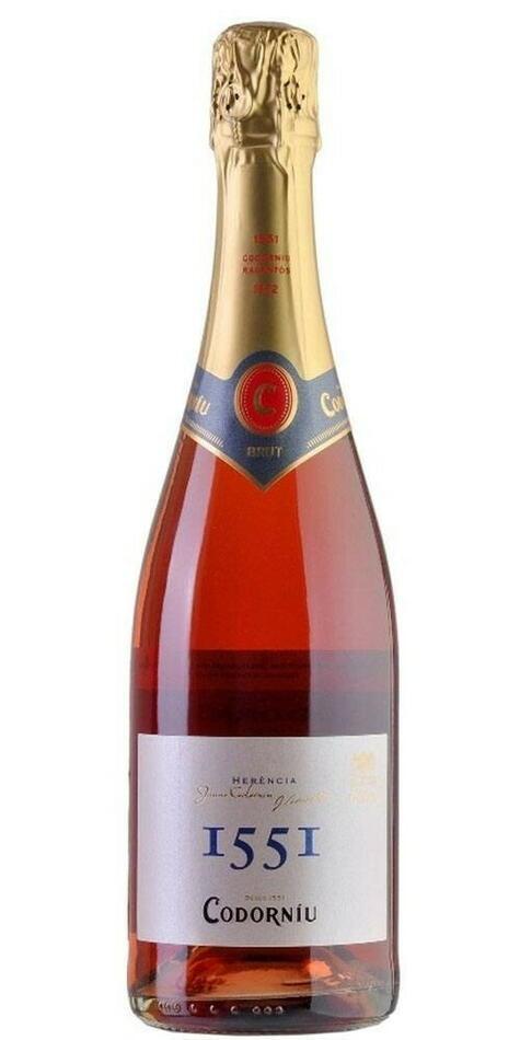Codorniu, Cava 1551 Rosé Fl 75