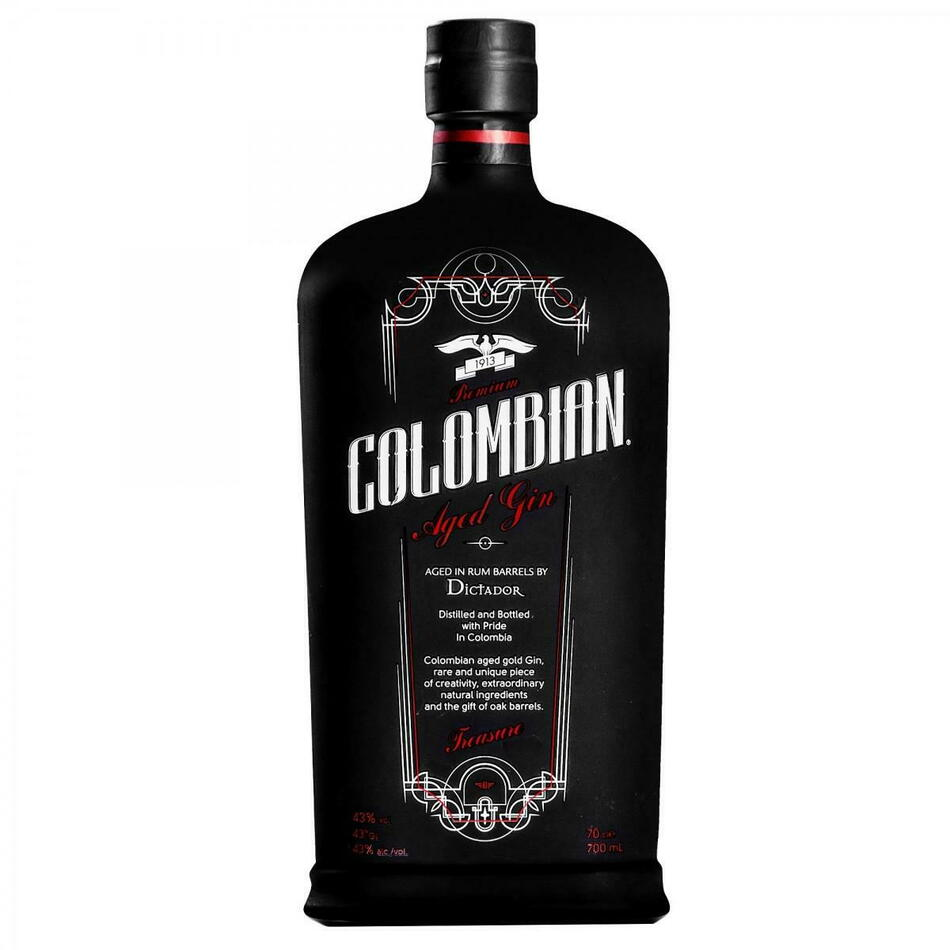 Image of   Colombian Premium Aged Gin - Treasure - Fl 70