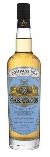 "Image of   Compass Box ""Oak Cross"" Blended Scotch Fl 70"