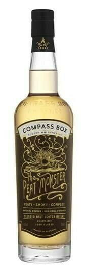 "Image of   Compass Box ""The Peat Monster"" Blended Scotch Fl 70"