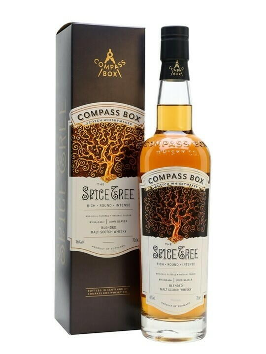 "Image of   Compass Box ""The Spice Tree"" Blended Scotch Fl 70"
