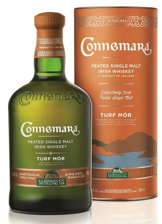 "Image of   Connemara ""Turf Mor"" Single Malt Irish Whiskey Fl 70"