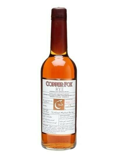 Image of   Copper Fox Rye Whisky Fl 70