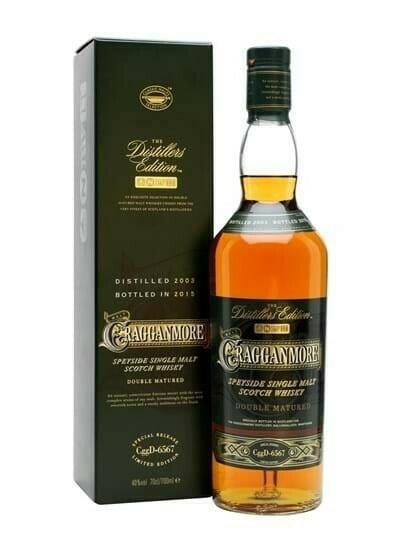 Image of   Cragganmore De 2015 Speyside Single Malt Fl 70
