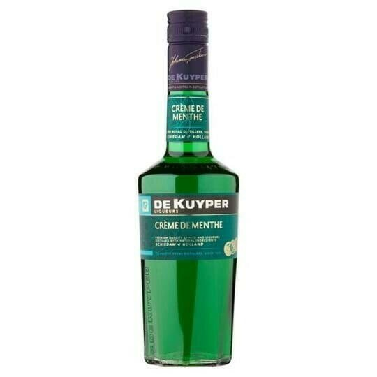 Image of   De Kuyper Liqueur Creme De Menthe Green Fl 70