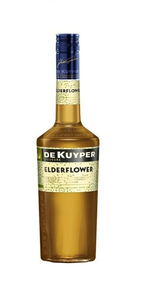 Image of   De Kuyper Liqueur Elderflower / Hyldeblomst Fl 70