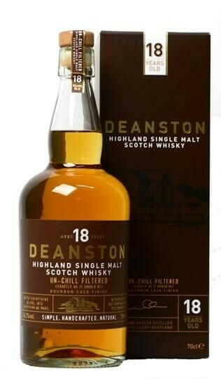 Image of   Deanston 18 Yo Bourbon Cask Highland Single Malt Fl 70
