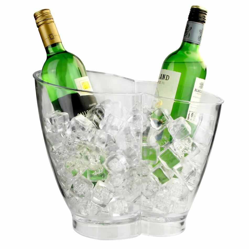 Dobbelt Flaske Drinks Spand