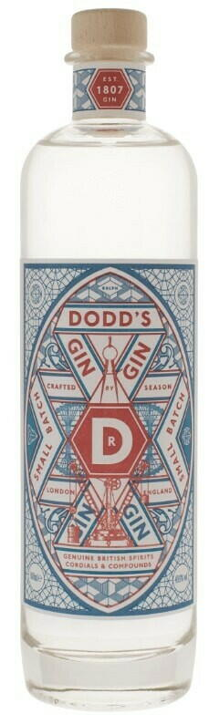 Image of   Dodds Genuine London Gin Fl 50cl