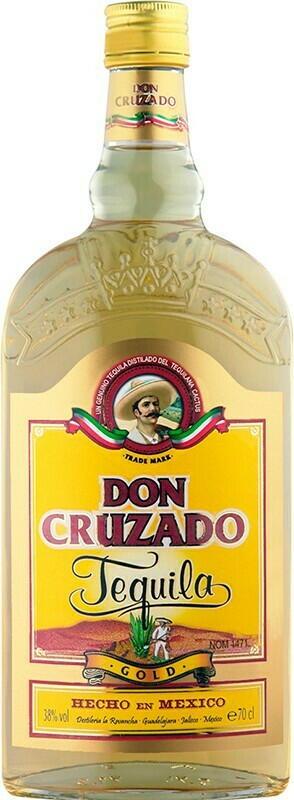 Image of   Don Cruzado Tequila Gold Fl 70