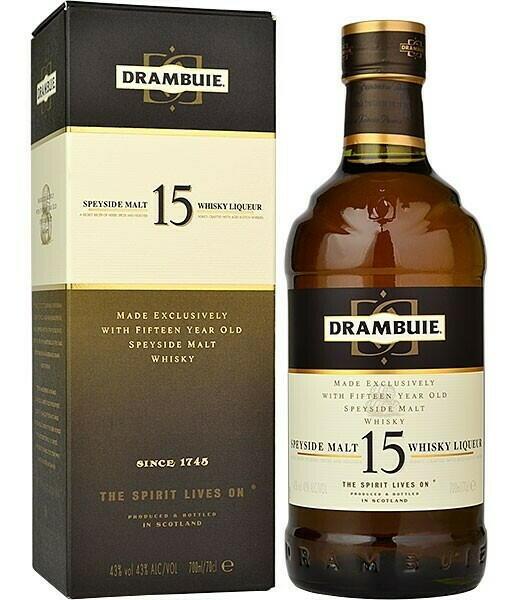 Drambuie 15 Yo Speyside Whisky Liqueur Fl 50