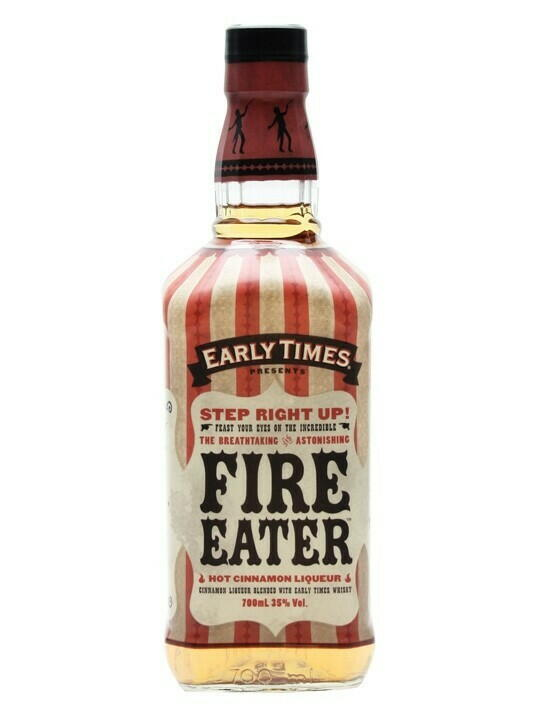 Image of   Early Times Fire Eater Cinnamon Liqueur Fl 70