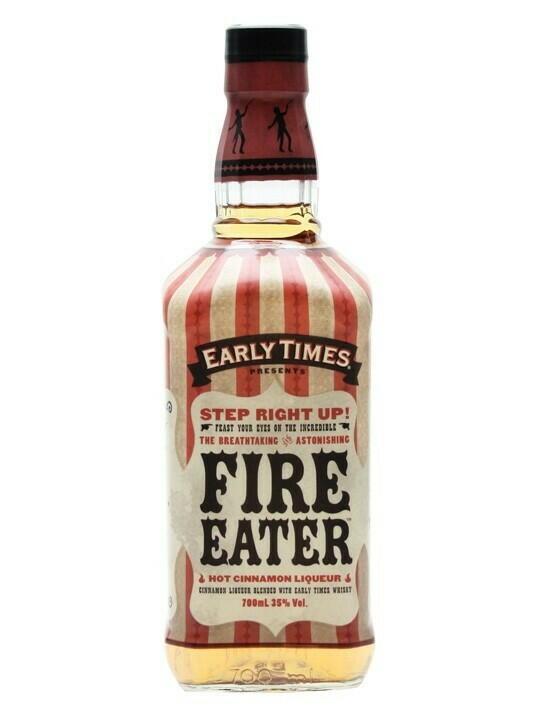 Early Times Fire Eater Cinnamon Liqueur Fl 70