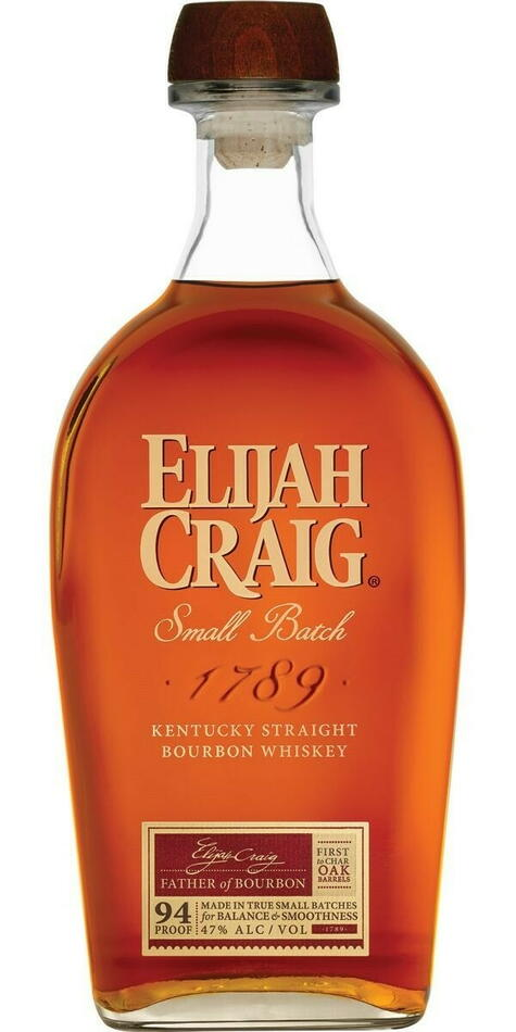 Image of   Elijah Craig Small Batch Bourbon Whiskey Fl 75