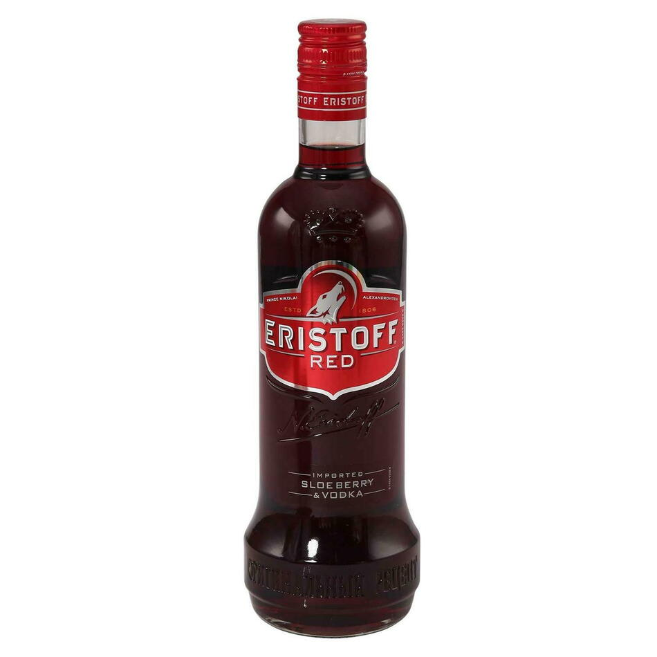 Image of   Eristoff Red Vodka Fl 70