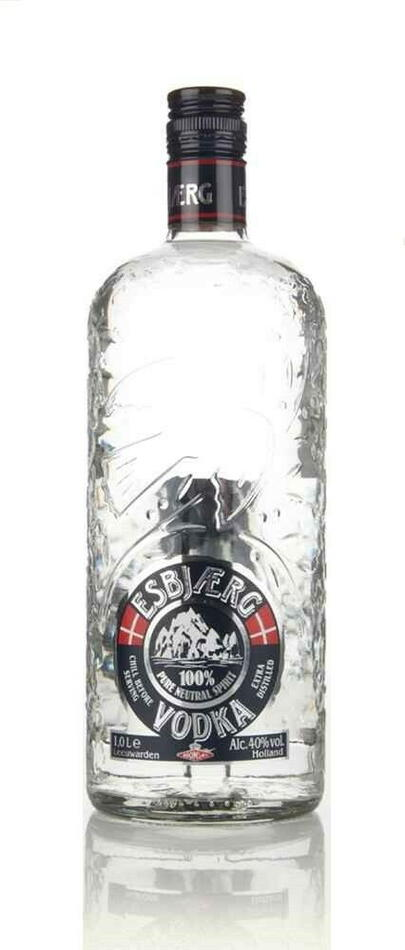 Image of   Esbjærg Vodka* Fl 100