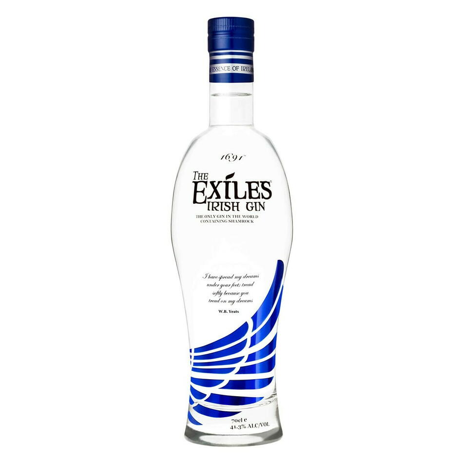 Image of   Exiles Irish Gin Fl 70