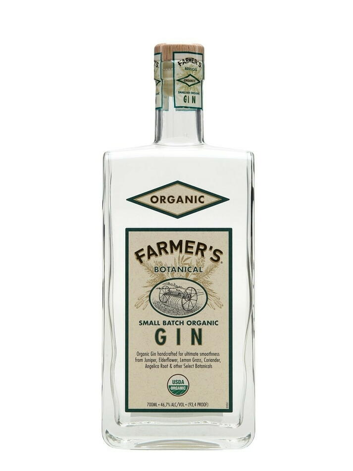 Image of   Farmer's Small Batch Organic Gin