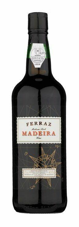Ferraz Medium Rich Madeira 0,7 Liter5 Ltr Drikkevarer