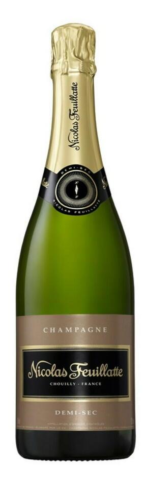 Image of   Feuillatte Champagne Demi-sec Fl 75