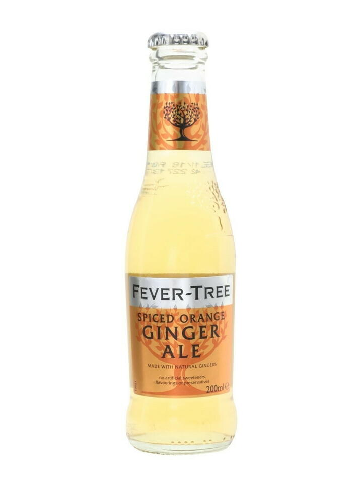Image of   Fever-tree Spiced Orange Ginger Ale 20cl