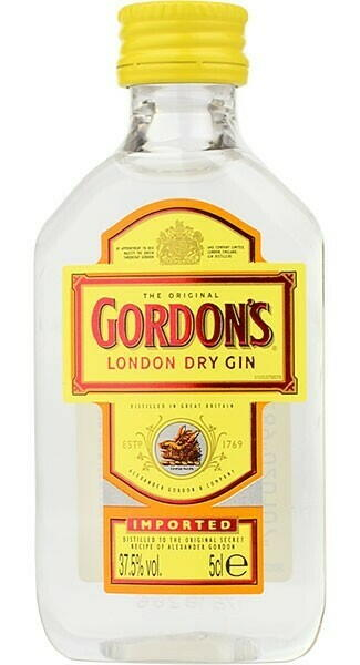 Gordon's Dry Gin 5cl Fl 5