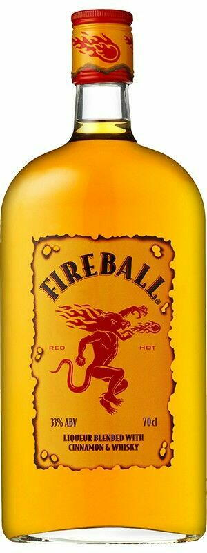 Image of   Fireball Cinnamon Whisky Liqueur Fl 70