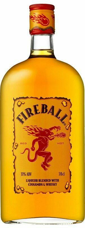 Billede af Fireball Cinnamon Whisky Liqueur