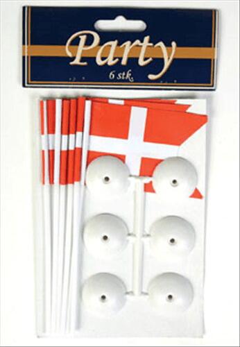 Image of   Flag På Fod 6 Stk.