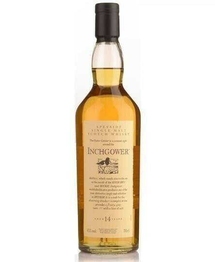 Flora & Fauna Inchgower 14 Yo Speyside Single Malt Fl 70