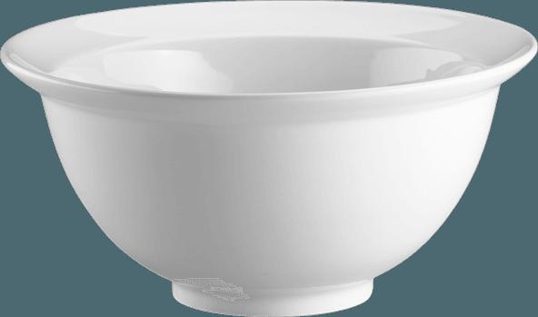 Image of   Skål Med Fane - 300 Cl Ø27 Cm - Bianco