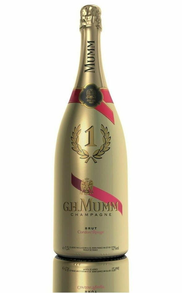 "Mumm Champagne Cordon Rouge ""Night Edt."" (Mg) Fl 150"