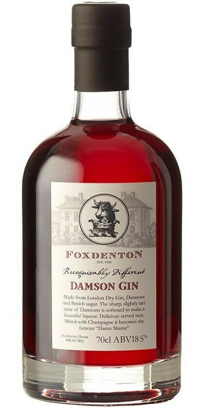 Foxdenton Damson Gin Fl 70