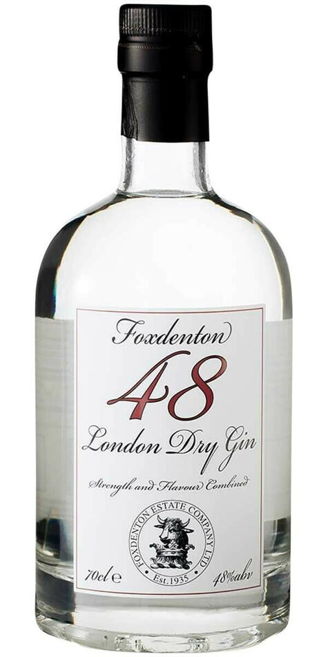 Image of   Foxdenton London Dry Gin Fl 70